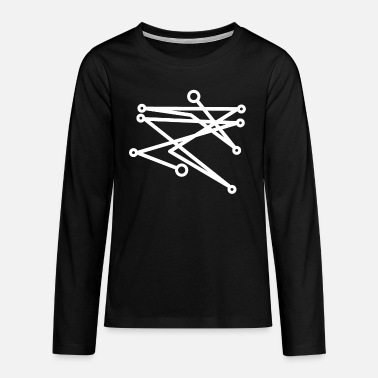 Sigille for love Sigil magic - Teenage Premium Longsleeve Shirt