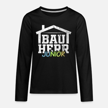 The Juniors Client Junior - Teenage Premium Longsleeve Shirt
