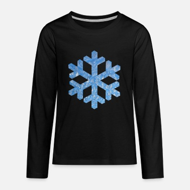 Ice Crystal Ice Crystal - Teenage Premium Longsleeve Shirt