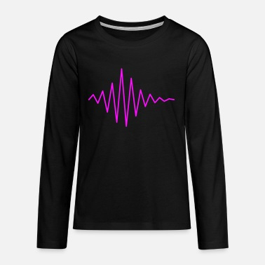 Le Son Pulse / soundwave II - Teenager premium longsleeve