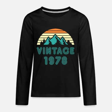 1978 1978 - Teenage Premium Longsleeve Shirt