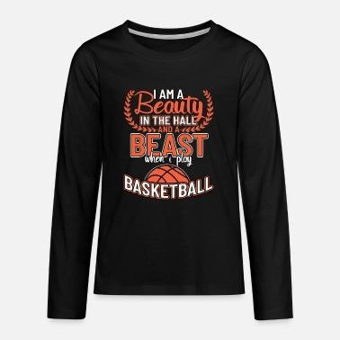 Basketball-team Basketball basketball basketball team - Premium langærmet T-shirt teenager