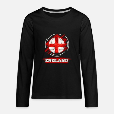 England Country Flag England - Teenage Premium Longsleeve Shirt