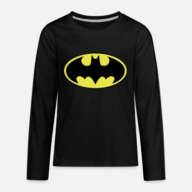 Batman Batman Logo Original - Premium langærmet T-shirt teenager