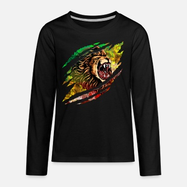 Scratch Lion Scratch - Teenager premium longsleeve