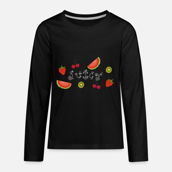 Gift Idea Long sleeve shirts - Juicy - Teenage Premium Longsleeve Shirt black