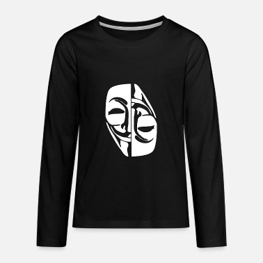Anonymous Anonymous - Teenager Premium Langarmshirt