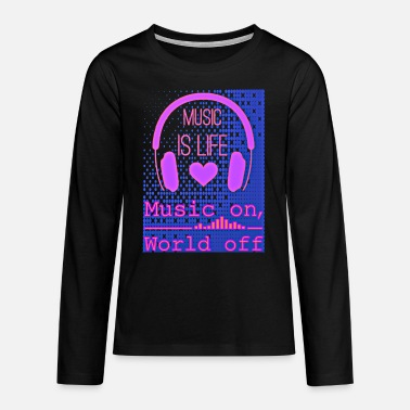 music - Teenage Premium Longsleeve Shirt
