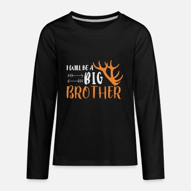 Brothers Brother-to-be brother - Teenage Premium Longsleeve Shirt