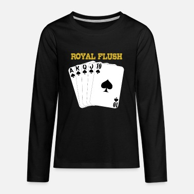 Royal Flush Royal Flush - Teenager Premium Langarmshirt