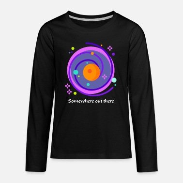 Somewhere out there - Teenage Premium Longsleeve Shirt