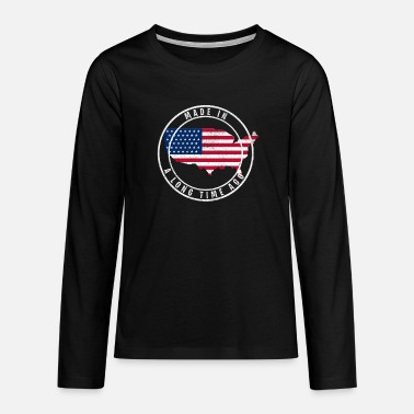 Made In Usa MADE IN USA - Teenage Premium Longsleeve Shirt