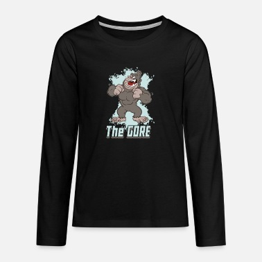 Gore Muscle Gorilla The Gore - Teenage Premium Longsleeve Shirt
