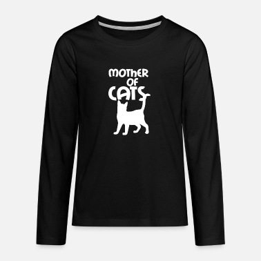 Mother of cats - Teenage Premium Longsleeve Shirt