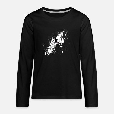 Skier Splash Cool - Teenage Premium Longsleeve Shirt