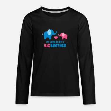 Big Brother Big Brother To Be - Teenage Premium Longsleeve Shirt