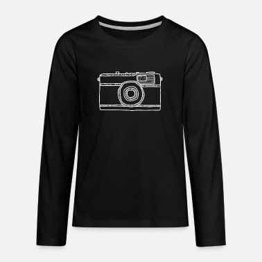 Camera camera - Teenage Premium Longsleeve Shirt