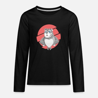 bulldog 1456110 960 720 - Teenage Premium Longsleeve Shirt