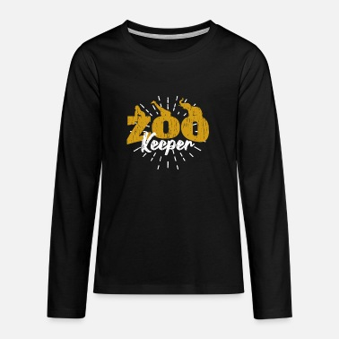 Keeper zoo keeper - Teenage Premium Longsleeve Shirt