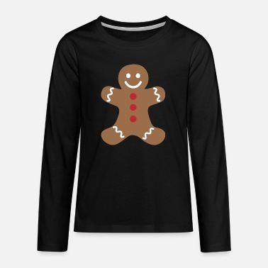 Gingerbread man - Teenager premium longsleeve