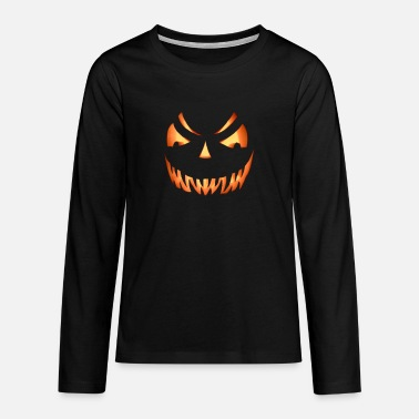 Hallowen smile! - Teenager Premium Langarmshirt