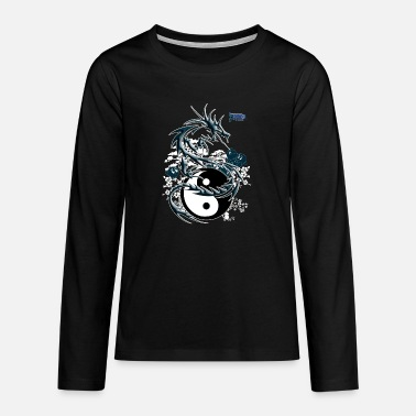 the dragon toonis - T-shirt manches longues premium Ado