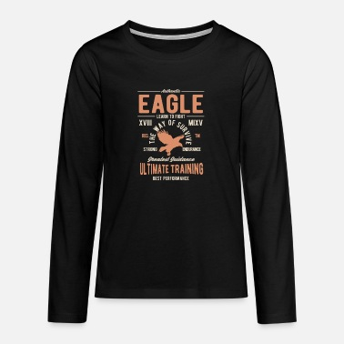 Authentic eagle - Teenage Premium Longsleeve Shirt