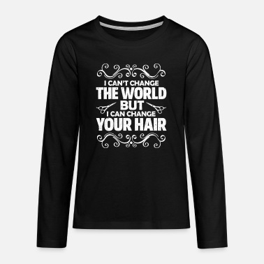 Stylist hair stylist - Teenage Premium Longsleeve Shirt