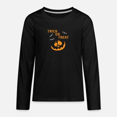 Or Trick or treat Bd9LkZ - T-shirt manches longues premium Ado