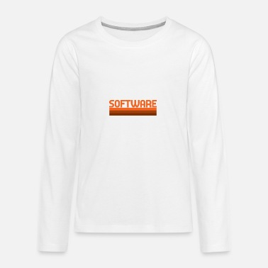 Software Software - Teenager Premium Langarmshirt