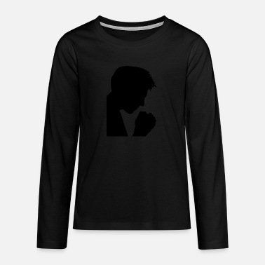 Prayer prayer - Teenage Premium Longsleeve Shirt