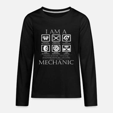 Mechaniker Mechaniker - Teenager Premium Langarmshirt