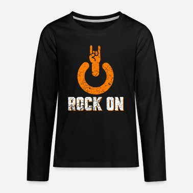 Hardrock Rock on - Teenager premium longsleeve