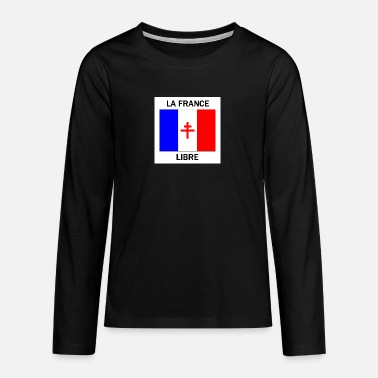 Free France - Teenage Premium Longsleeve Shirt