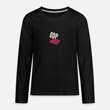 Odp ODP coming through - Teenage Premium Longsleeve Shirt