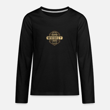 Whiskey WHISKEY - Teenager Premium Langarmshirt