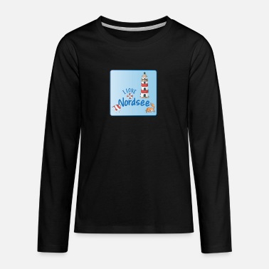 North Sea North Sea - Teenage Premium Longsleeve Shirt