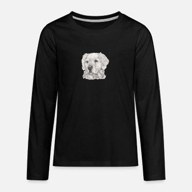Golden Retriever golden retriever - T-shirt manches longues premium Ado