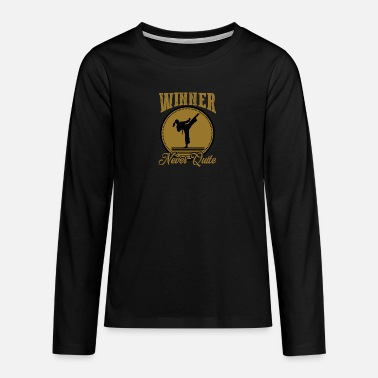 Winner Winner - Teenage Premium Longsleeve Shirt