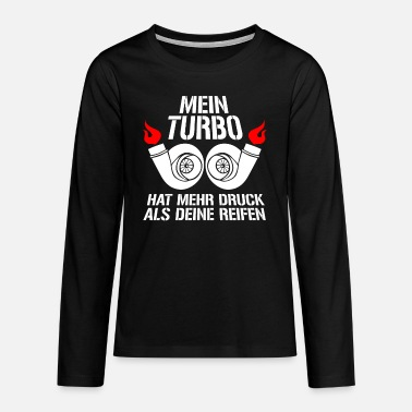 Turbo turbo - Teenage Premium Longsleeve Shirt