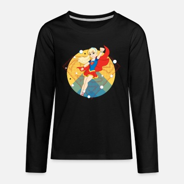 Supergirl DC Super Hero Girls Supergirl - Teenager Premium Langarmshirt