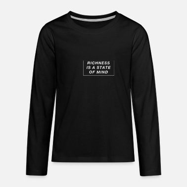 Wealth wealth - Teenage Premium Longsleeve Shirt