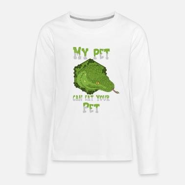 Funny Snake World Snake Day Reptile Poison - Teenage Premium Longsleeve Shirt