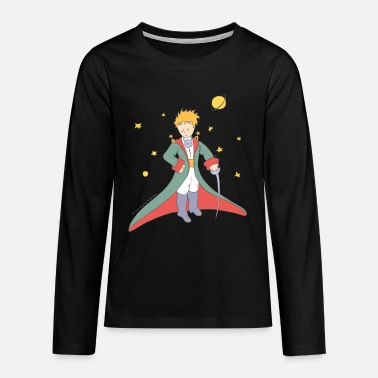 The Little Prince Portrait Illustration - Teenage Premium Longsleeve Shirt