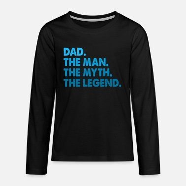 For Dad Favourite Dad. Best Dad. Gifts for Dads. Daddy. - Teenage Premium Longsleeve Shirt