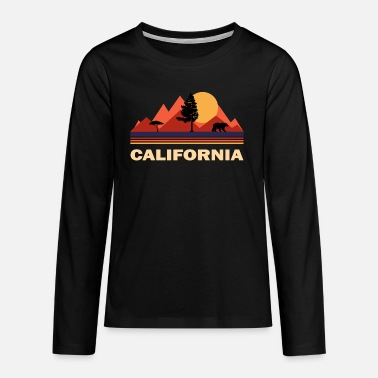 Californië Californië Californië - Teenager premium longsleeve