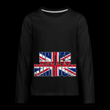 United Kingdom - Teenagers' Premium Longsleeve Shirt