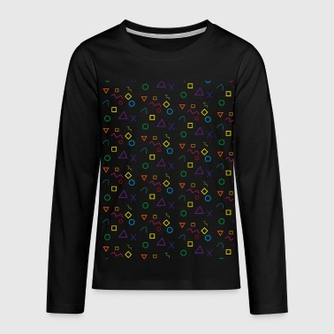 Shapes - Teenagers' Premium Longsleeve Shirt