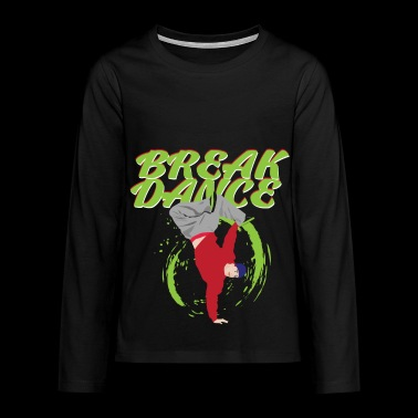 breakdance - Teenager Premium shirt met lange mouwen