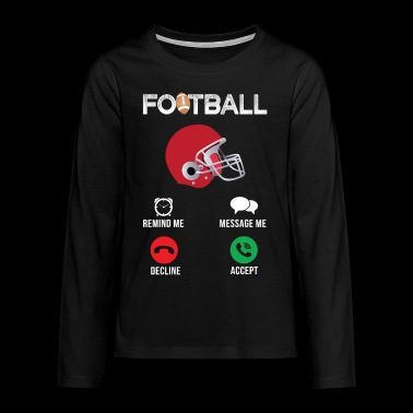 American Football - Teenagers' Premium Longsleeve Shirt
